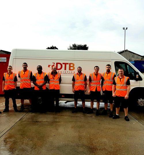 dtb logistics multi-drop courier van image 9